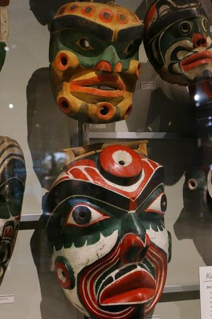 Museum of Anthropology: first nation art