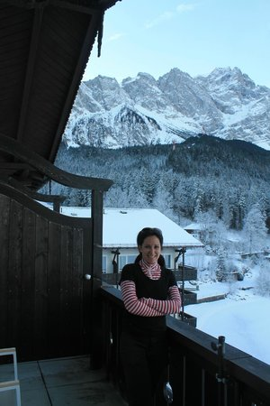 Eibsee Hotel : view from our balcony