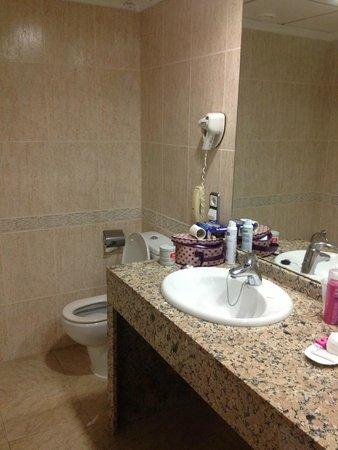 Hotel Flamingo Oasis: Bathroom