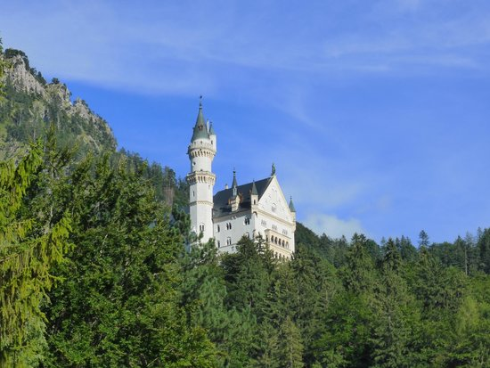Hotel Villa Ludwig: Het uizicht der uitzichten, kasteel Neuschwanstein