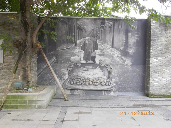 Kuanzhai Ancient Street of Qing Dynasty: Some good pictures in the alley