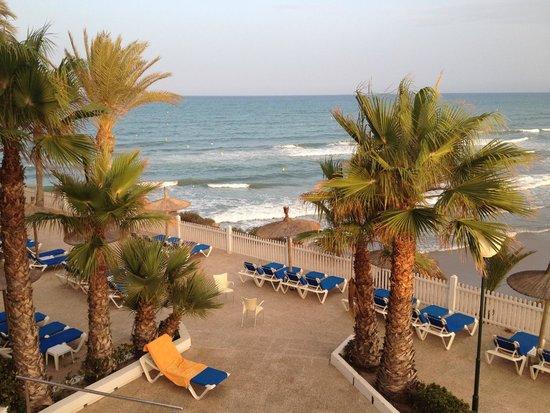 Servigroup La Zenia: Terraza con vistas al mar