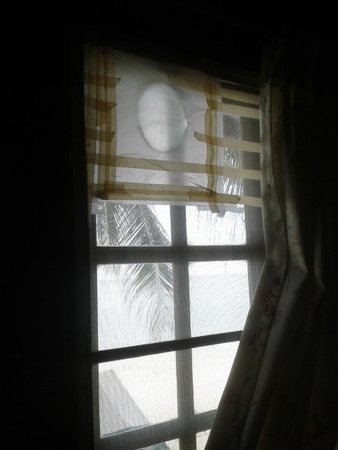 Sea Breeze Bungalows: finestra fronte mare