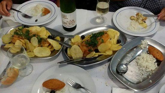 Restaurante Casa Dias: Bacalhao a la Braga