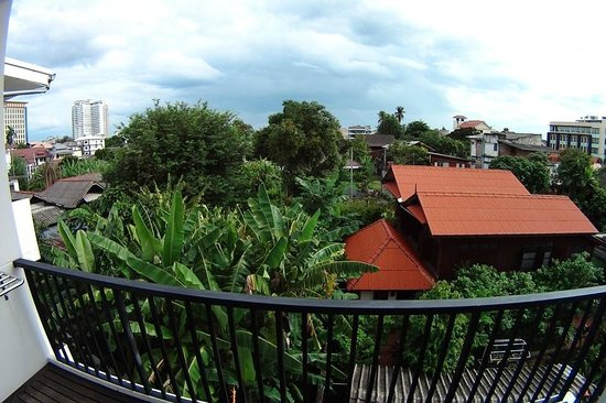 Studio 99 Serviced Apartments: View from bedroom balcony