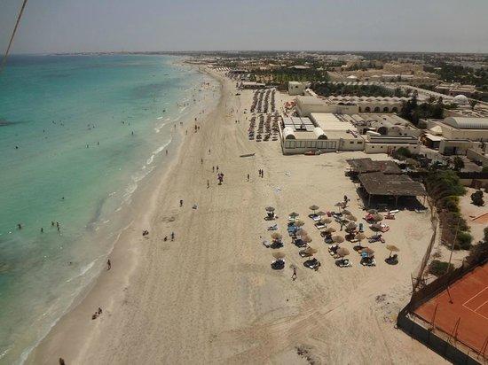 SENTIDO Djerba Beach: hotel vu du ciel