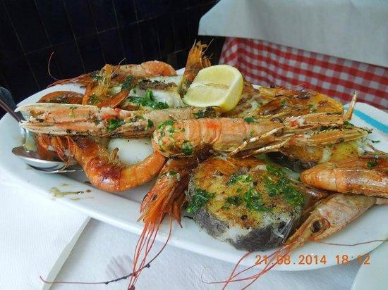 Restaurante La Palmera : микс