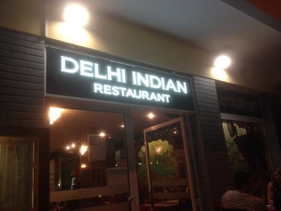 Delhi Indian Restaurant : The front of house