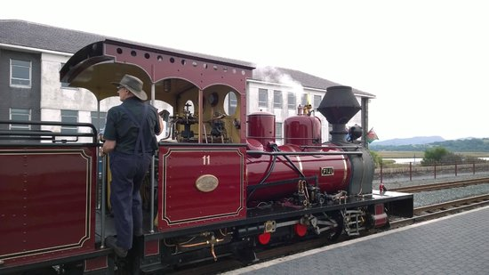 Ffestiniog & Welsh Highland Railways: Another one of the old steam engines