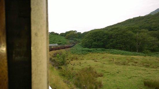 Ffestiniog & Welsh Highland Railways: A look out of the window