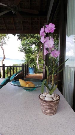 Four Seasons Resort Koh Samui Thailand: Outside the bungalow