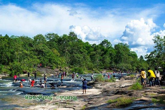 Khun Han, Thailand: น้ำตกห้วยจันทร์