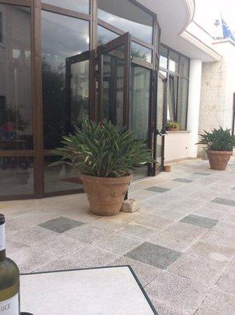 Ramapendula Hotel: entrada da recepcao