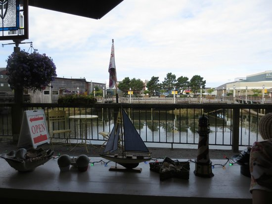 Patty's Wicker Cafe: View from our table