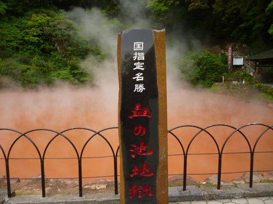 Hells of Beppu : 真っ赤な池(血の池地獄)