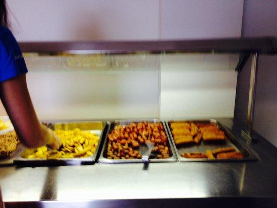 H TOP Caleta Palace: Snack food