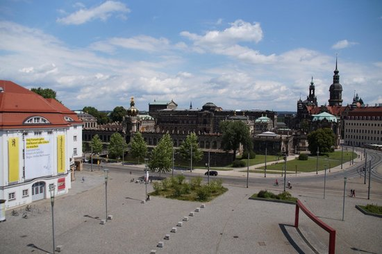 Motel One Dresden am Zwinger: Blick aus unserem Fenster