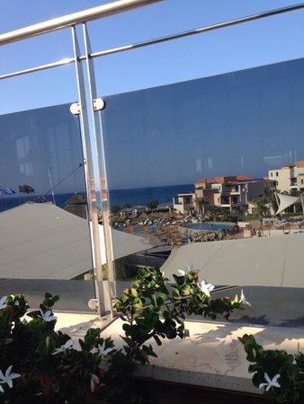 Atlantica Sensatori Resort Crete: View from lobby bar