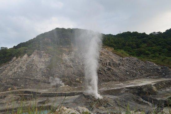 Beitou Hot Spring: Sulphuric hot spring