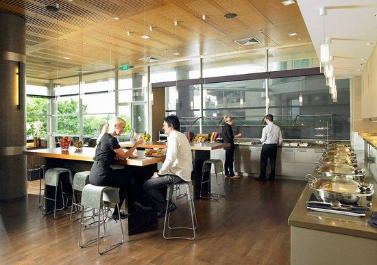 Novotel Hamilton Tainui: Restaurant