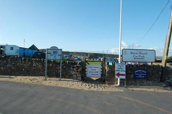 Brean Sands Beach Car Park