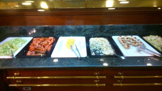 Hotel Miramar: buffet horrible!!
