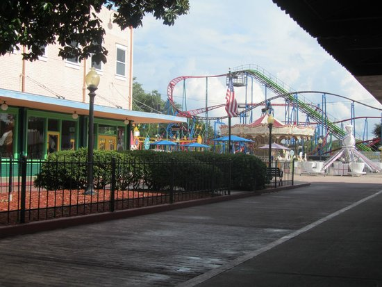 Old Town: End of the street with some kid attractions