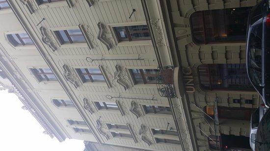 Hotel UNIC Prague: Außenansicht