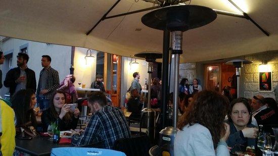Taverna Gargantuà: Piazzetta degli ortaggi Gargantuà