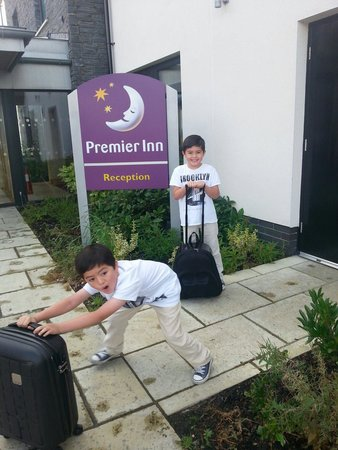 Premier Inn Derry / Londonderry Hotel: A great place for kids