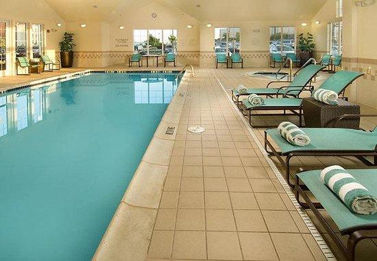 Indoor Pool Picture Of Residence Inn San Antonio