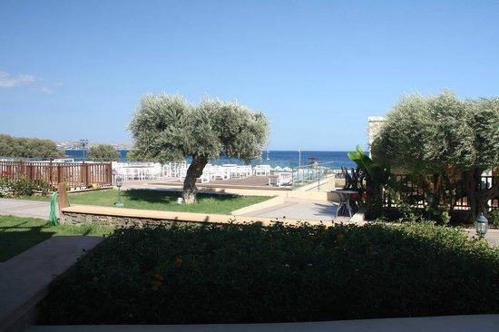 Lindos Imperial Resort & Spa: chambre vue mer... au loin... avec supplément