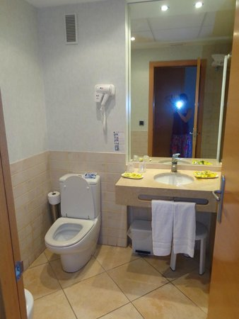 Hotel Rober Palas: Baño de la Habitación