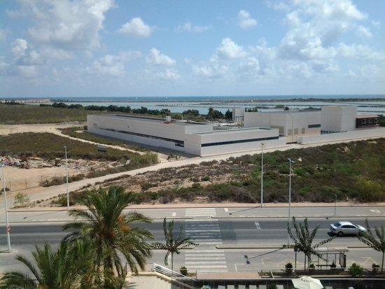 Thalasia Costa de Murcia: Vista a Las Salinas y la planta aguas residuales