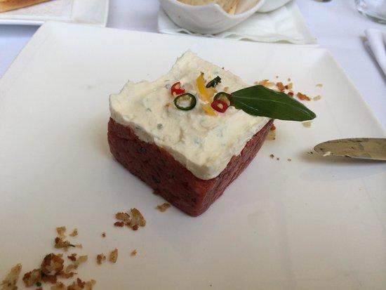 MARIO Pasta-Grill-Bar : beef tartar