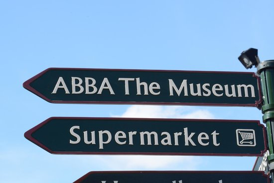 ABBA The Museum : Finding your way.