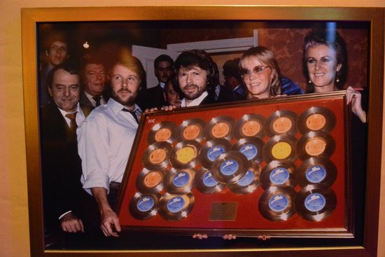 ABBA The Museum : Awards on show.