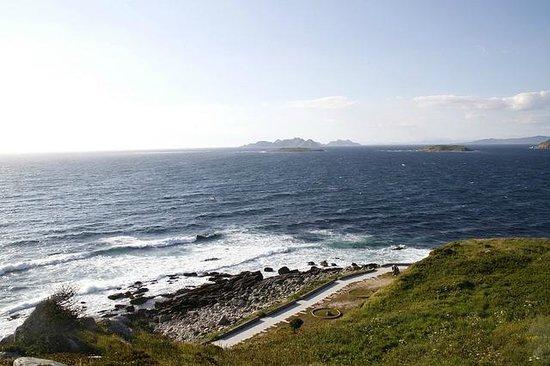 Parador de Baiona: La mer tout autour du site
