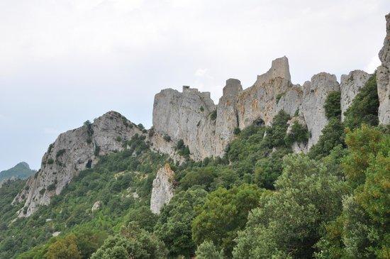 Château de Peyrepertuse : Indrukwekkend