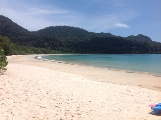 The Andaman, A Luxury Collection Resort: 1km private beach...ok, go on then