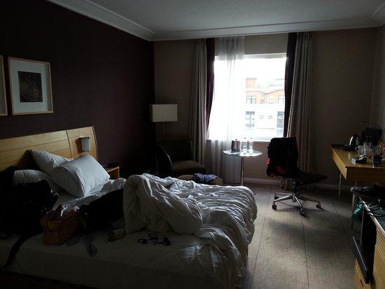 Hilton Newcastle Gateshead: standard room
