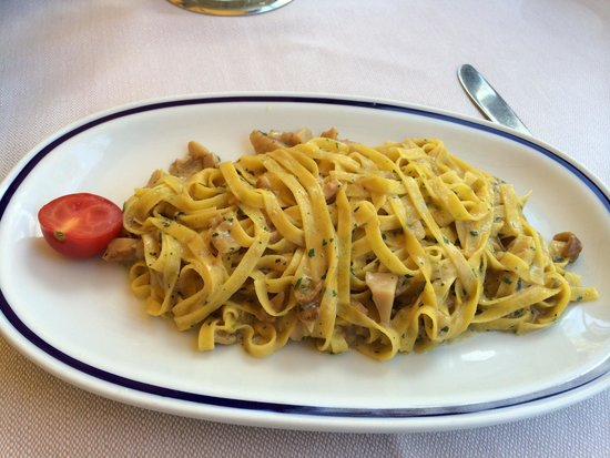 Ristorante Gran Viale : Homemade noodles with mushrooms :)