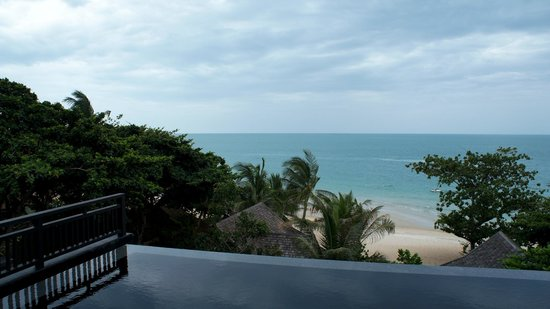 Vana Belle, A Luxury Collection Resort, Koh Samui: View from Ocean View Pool Suite (Room 811)