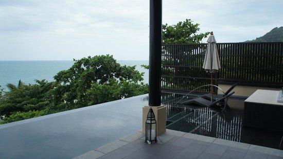 Vana Belle, A Luxury Collection Resort, Koh Samui: Infinity Pool at Ocean View Pool Suite (Room 811)