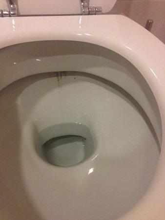 Starhotels Metropole: Грязный туалет
