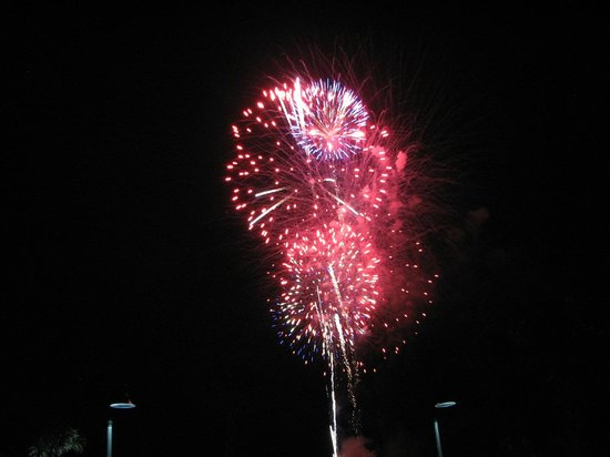 Windsurfer Hotel : Fireworks on Wednesday