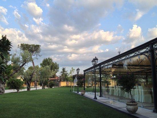 Villa Fiorita Hotel: terrazza matrimonio