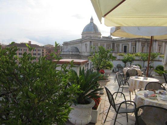Hotel Gallia: Terrazza di Gallia Hotel