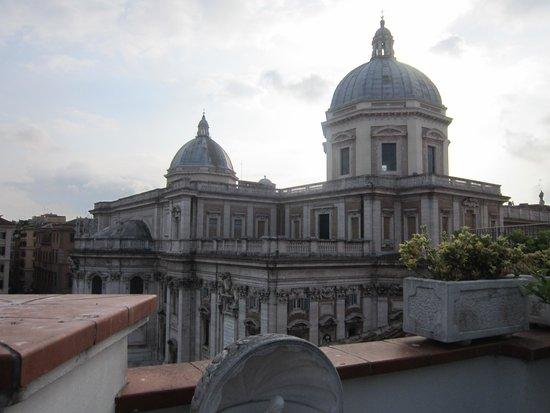 Hotel Gallia: Veduta di Santa Maria Maggiore dall'Hotel