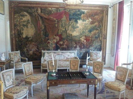 Villa & Jardins Ephrussi de Rothschild: salon